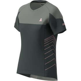 Zimtstern Bulletz SS Shirt Women, pirate black/gun metal
